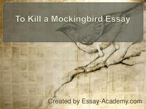 to kill a mockingbird essay themes and issues to kill a mockingbird essay
