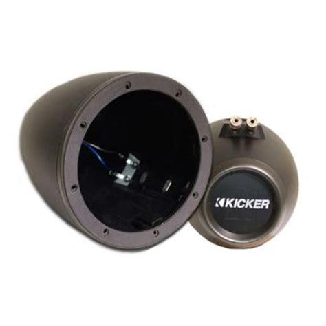 Kicker 12kmtes 6 1 2 Quot Marine Speaker Enclosure Pair At