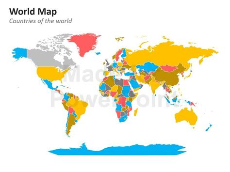 world map editable powerpoint maps