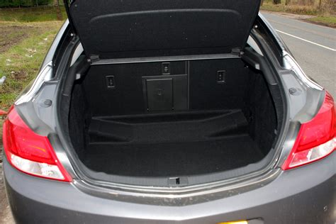 opel insignia trunk space vauxhall insignia trunk space