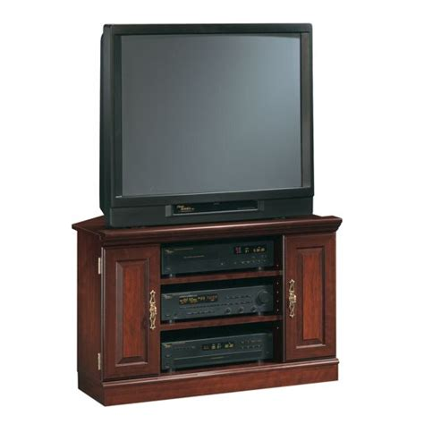 used tv stands used sauder cherry corner entertainment center for sale