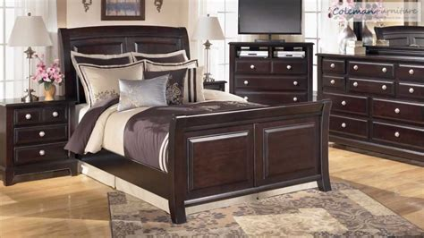 ridgley bedroom furniture collection  signature design  ashley youtube