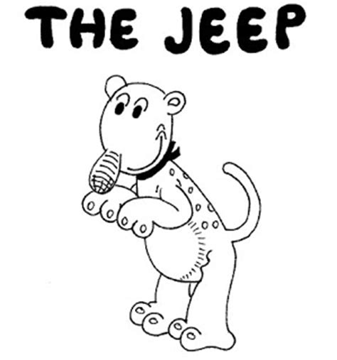 Jeep Character A Place To Put My Stuff Popeye Part Iii Eugene The Jeep