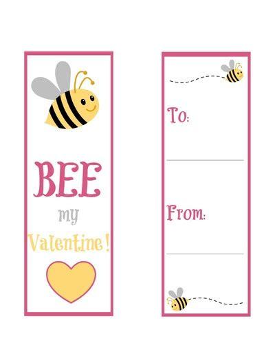 bee mine card template bee mine free printable bookmarks allfreekidscrafts