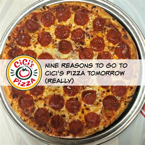 Cici S Pizza Gift Card - nine reasons to go to cici s pizza tomorrow really mamachallenge dallas mom