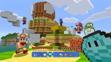 my secret juego free mario items come to minecraft wii u next week gamespot