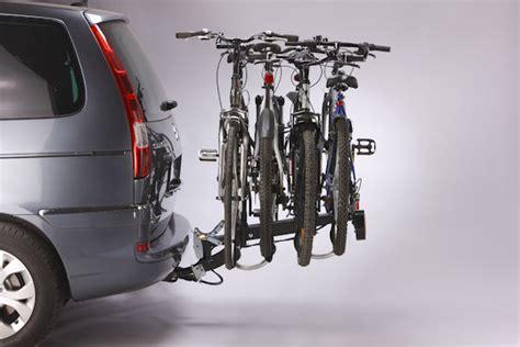 mottez a018p4ra tilting 4 bike towbar mounted carrier