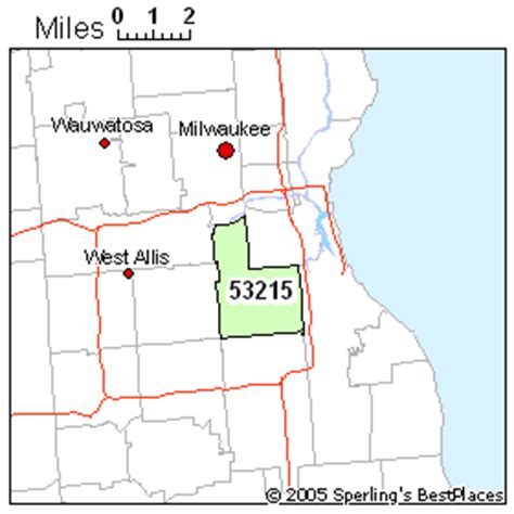 zip code map milwaukee best place to live in milwaukee zip 53215 wisconsin