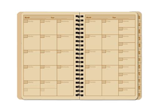 Calendar Notebook Vancouver Tactical Supplies Pocket Calendar And Complete