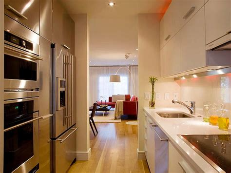 modern galley kitchen ideas galley kitchen designs hgtv