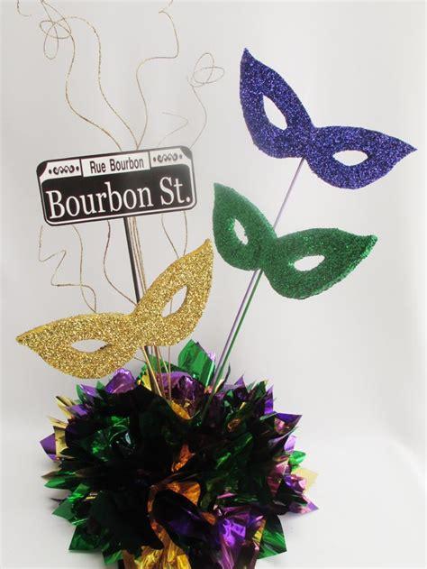 mardi gras party centerpiece ideas google search mardi