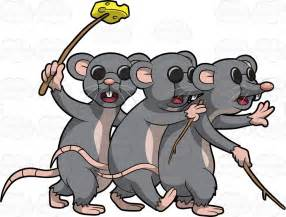 3 Blind Mice Book Cartoon Clipart Three Blind Mice