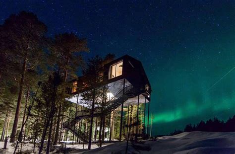 northern lights hotel the 5 most unique hotels in the to admire the