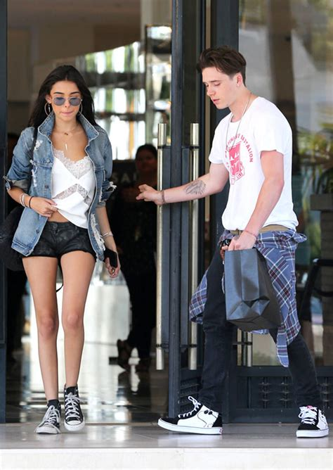 brooklyn beckham and madison beer step out in los angeles