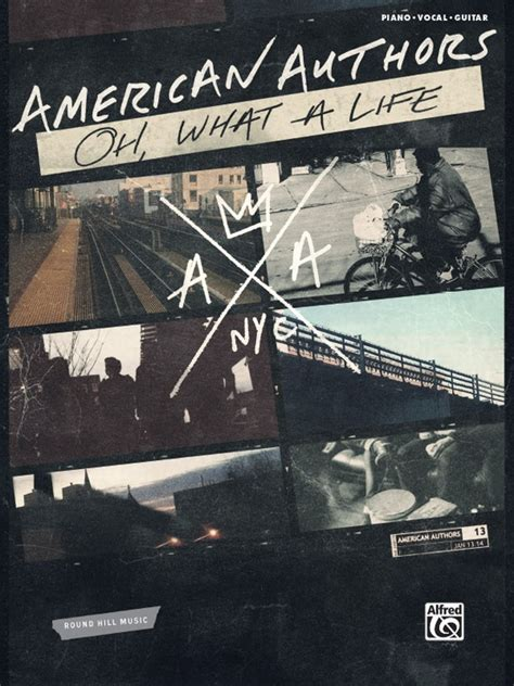 Cd American Authors Oh What A american authors oh what a piano vocal guitar book american authors