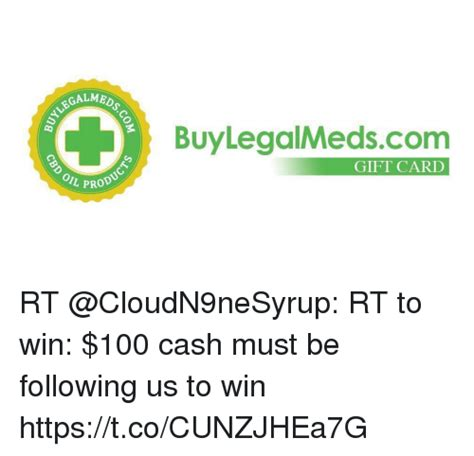 Anaconda Gift Card - buylegalmedscom gift card prod rt rt to win 100 cash must be following us to win