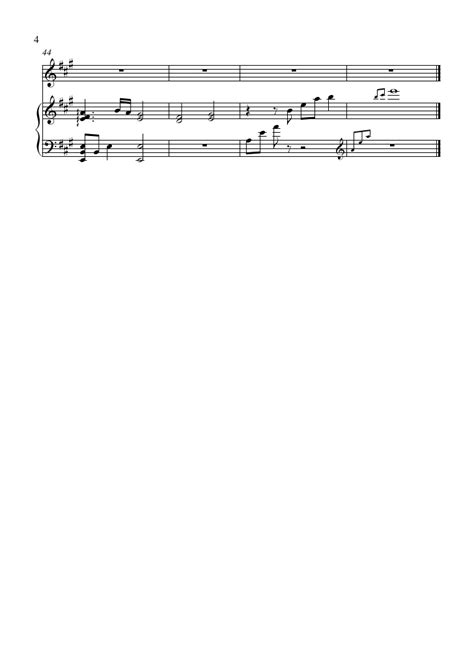 Tsubasa Chronicle Note sheet tsubasa chronicle blue clouds flute violin