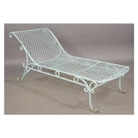 vintage wrought iron chaise lounge vintage wrought iron french garden chaise lounge