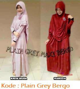 Mfc081 Kaos Baju Atasan Wanita Murah Grosir Distributor Pakaian grosir baju muslim murah plain grey bergo modenagrosir