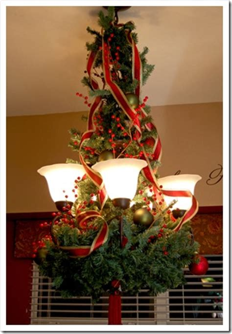 anyone can decorate christmas chandelier diy craft