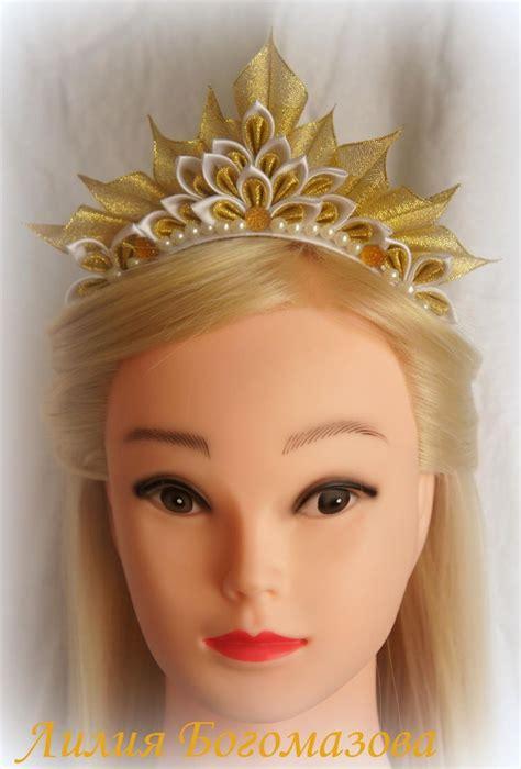 jepit boutique elsa одноклассники kanzashi princess crown