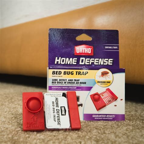 ortho home defense bed bugs home defense bed bug trap ortho