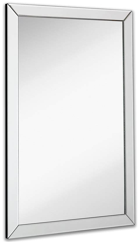 large flat bathroom mirrors large flat framed wall mirror with 2 inch edge beveled