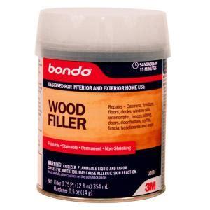 wood filler home depot bondo 12 fl oz wood filler 30081 the home depot
