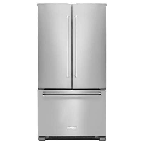 refrigerator door counter depth kitchenaid krfc302ess 22 cu ft counter depth door