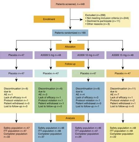 patient flow diagram patient flow diagram completer pp per protocol popul