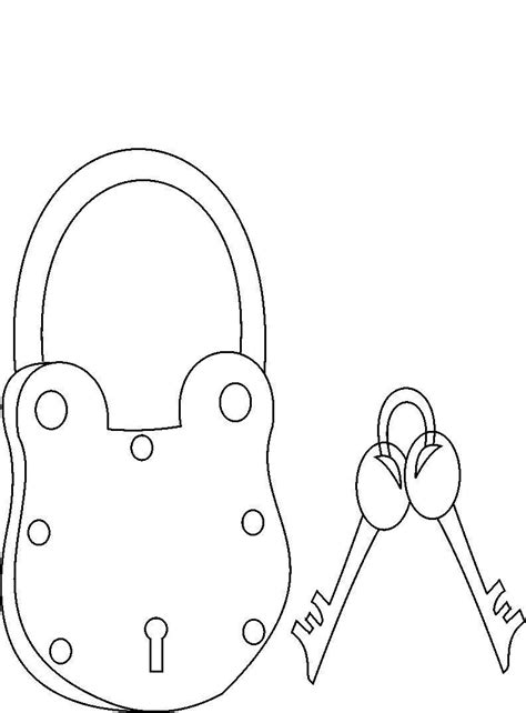 printable keys coloring pages desenho de chave e cadeado para colorir tudodesenhos