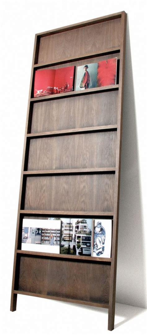 magazine holders for bookshelves 25 best ideas about magazine racks on
