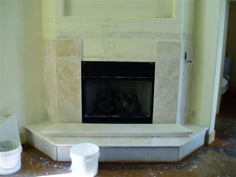 travertine tile fireplace surround picures photos images of installing a marble travertine granite limestone fireplace mantle