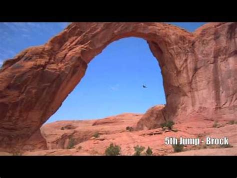 utah arch swing corona arch rope swing moab utah youtube