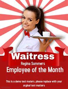 Employee Of The Month Template by Employee Of The Month Template Postermywall