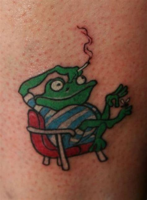 tattoo cartoon art cartoon frog tattoos tattoo art gallery