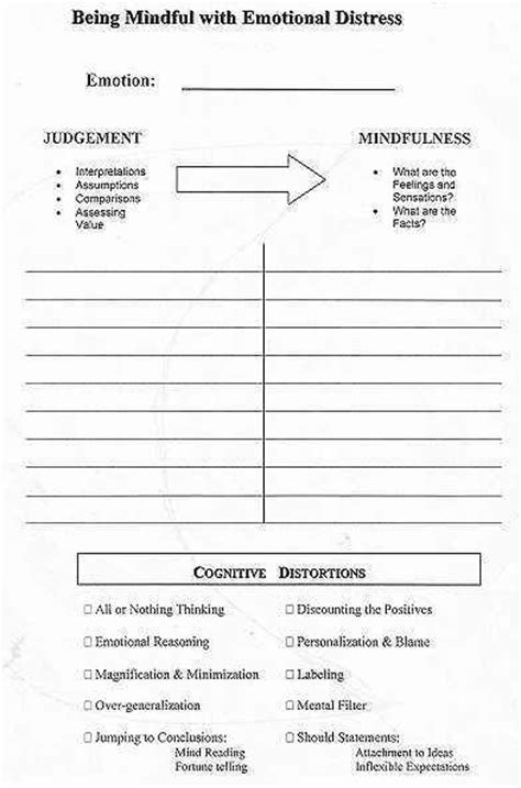 Free Printable Counseling Worksheets by 780 Best Images About Counseling Worksheets Printables