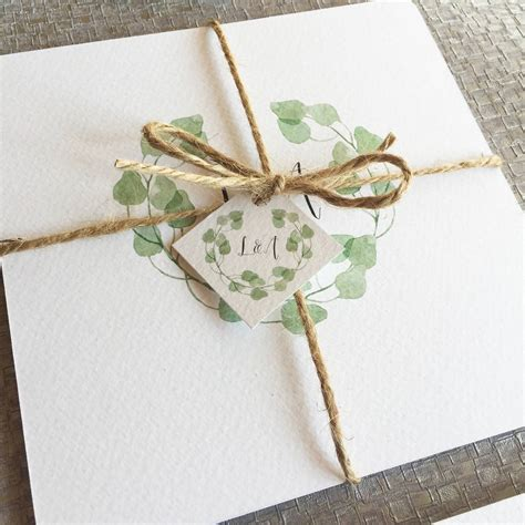 Wedding Invitation Collections by Eucalyptus Wedding Invitation Collection By Elinor