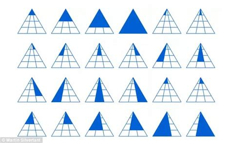 how many triangles are there in this diagram how many triangles can you see daily mail