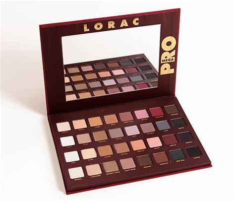 Lorac Mega Pro Pallete sneak peek lorac mega pro palette photos swatches