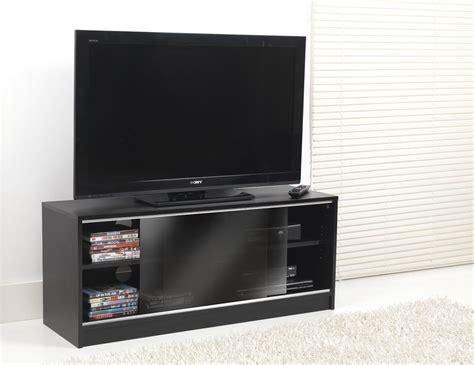 Black Tv Cabinets With Doors Valufurniture Vts 0582 Tv Stands
