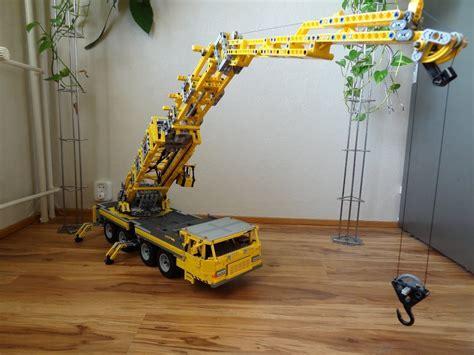 leggo mobile lego big mobile crane 2 motorized lego awesomeness