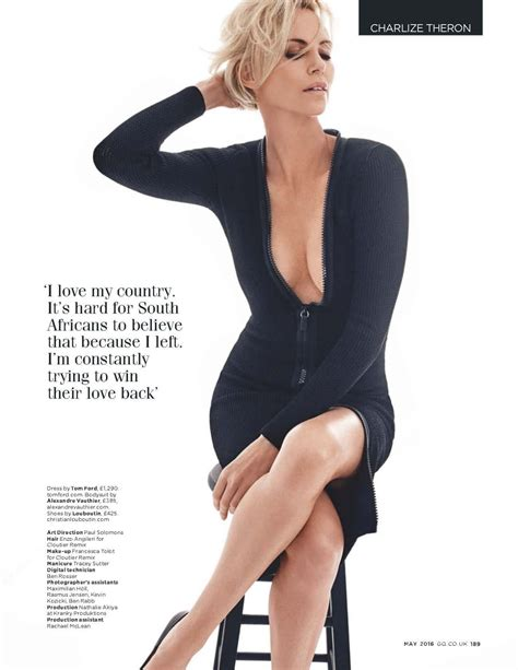 Charlize Theron Is Sued By Raymond Weil by Charlize Theron Gq Magazine Uk May 2016 Issue