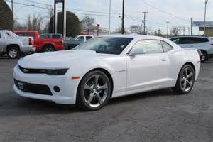 2014 Chevrolet Camaro 2lt New 2014 Chevrolet Camaro 2lt Stock 34436 Summit White Rwd New