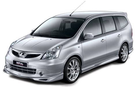 nissan impul nissan grand livina kit impul amry s
