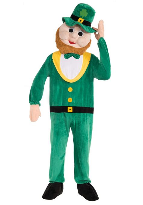mascot costume leprechaun mascot costume