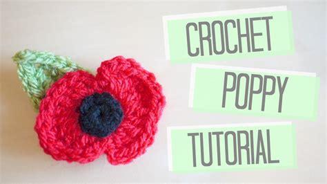 youtube poppy pattern crochet poppy tutorial bella coco youtube