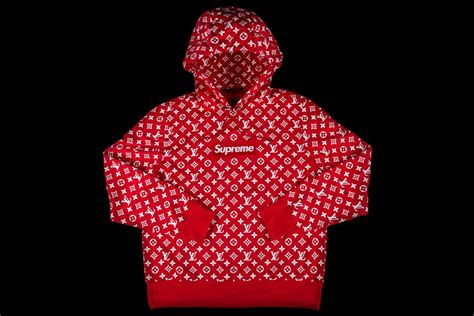 Supreme X Lv Sweater louis vuitton supreme box logo hooded sweatshirt s s 2017