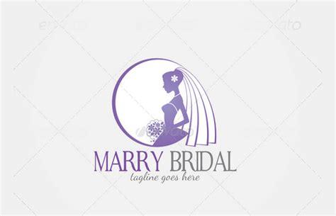editable logos templates 20 bridal logos free editable psd ai vector eps