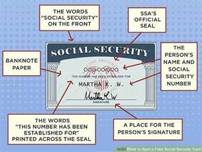 3 ways to spot a social security card wikihow